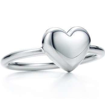 Silver Heart Ring - Haggled Jewellery