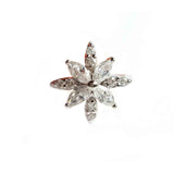 Snowflake Swiss Diamond Ring - Haggled Jewellery - 1