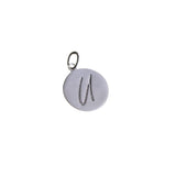 U Initial Pendant Necklace - Haggled Jewellery - 2