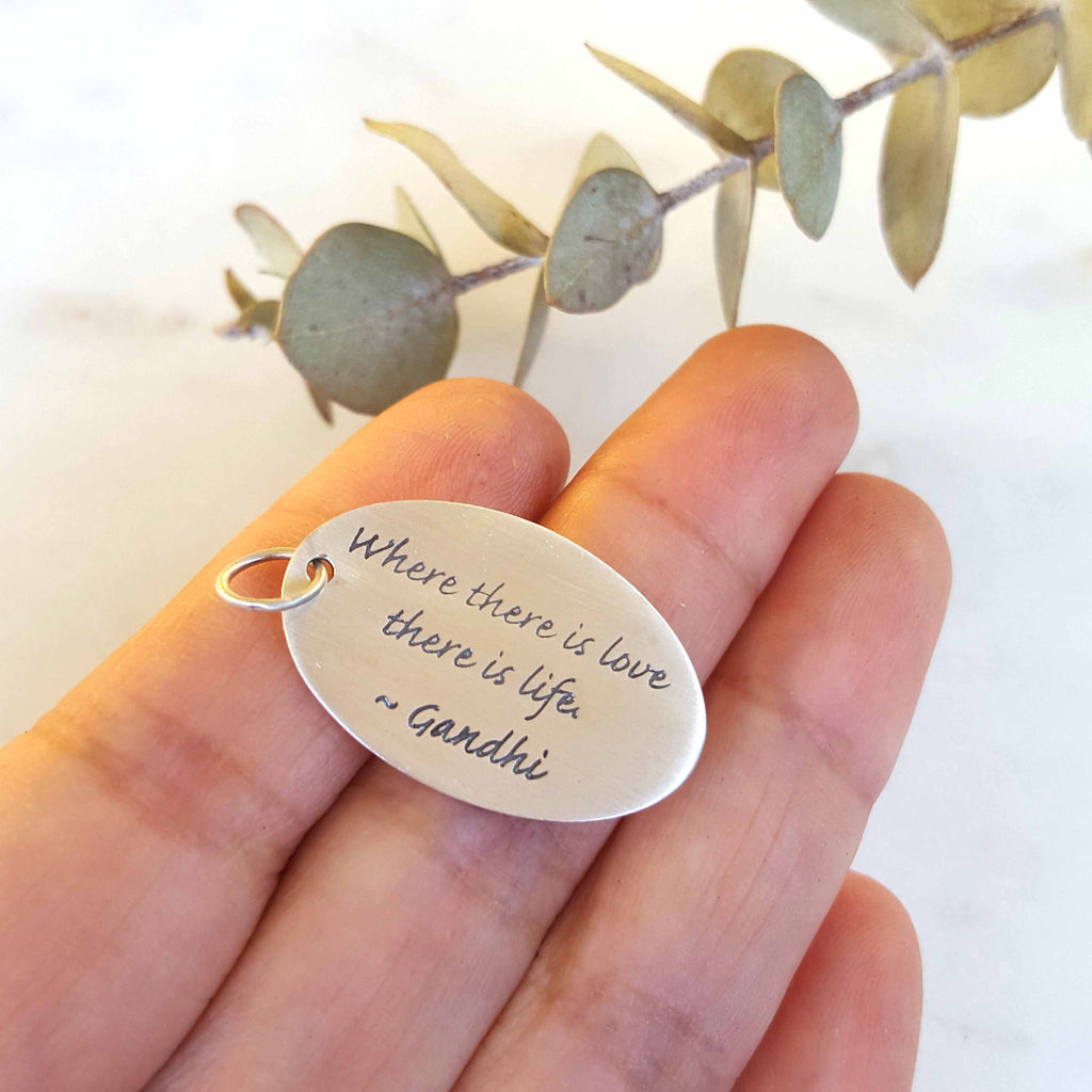 Where There is Love Pendant