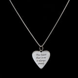Heart that Loves Pendant - Haggled Jewellery - 2