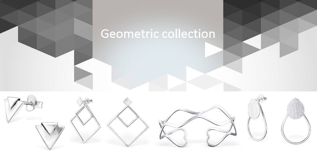 Geometric Silver Collection