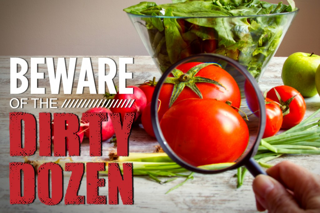 Are You Aware Of The Dirty Dozen & The Clean Fifteen?