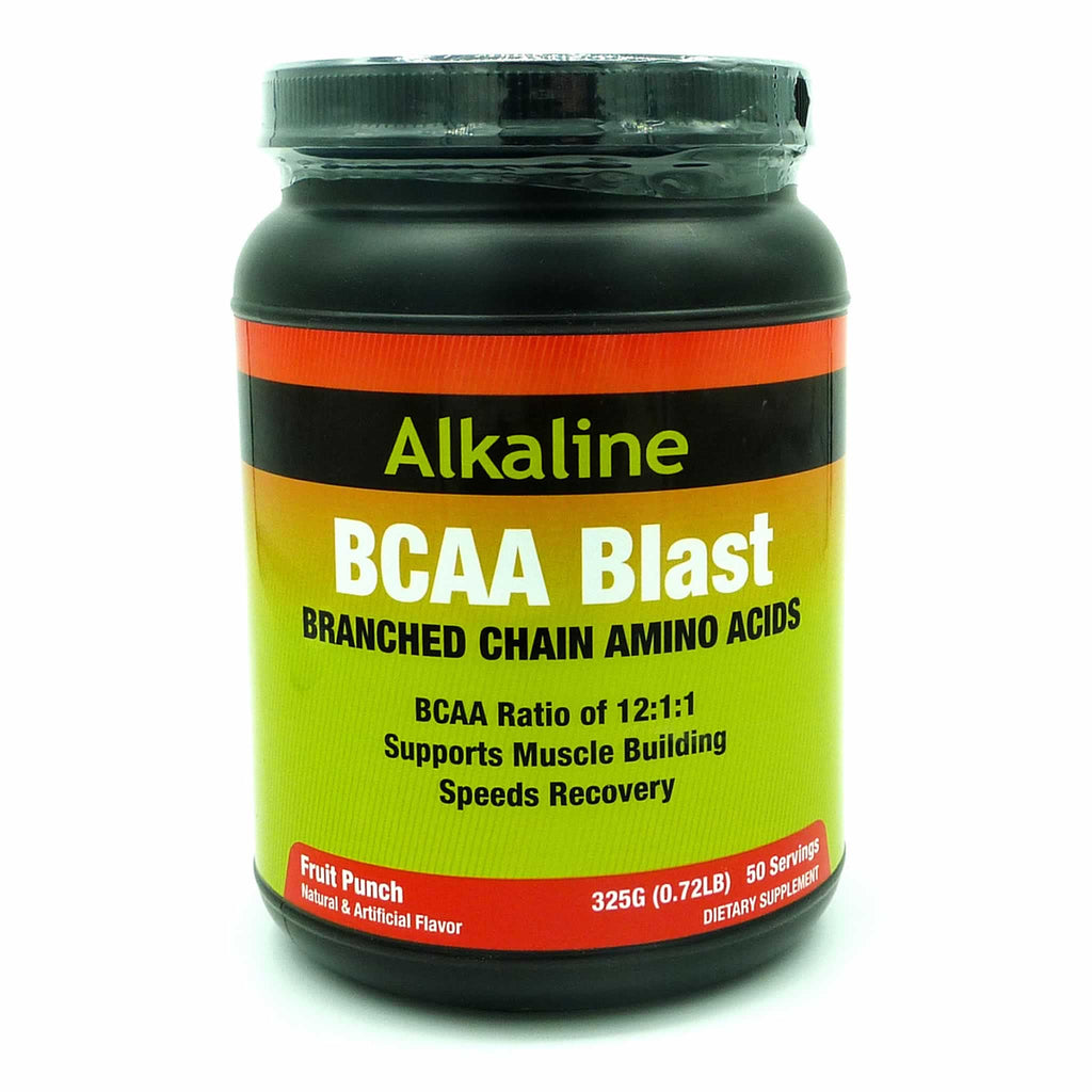 Recover Faster and Train Harder with Alkaline Extreme BCAA Blast! Alkaline Extreme BCAA Blast Powder is a premium formula with amazing flavours that fuel endurance, hydration and recovery. Branch Chain Amino Acids (BCAAs) are especially important right after a strenuous exercise or intense physical activity as it helps...
