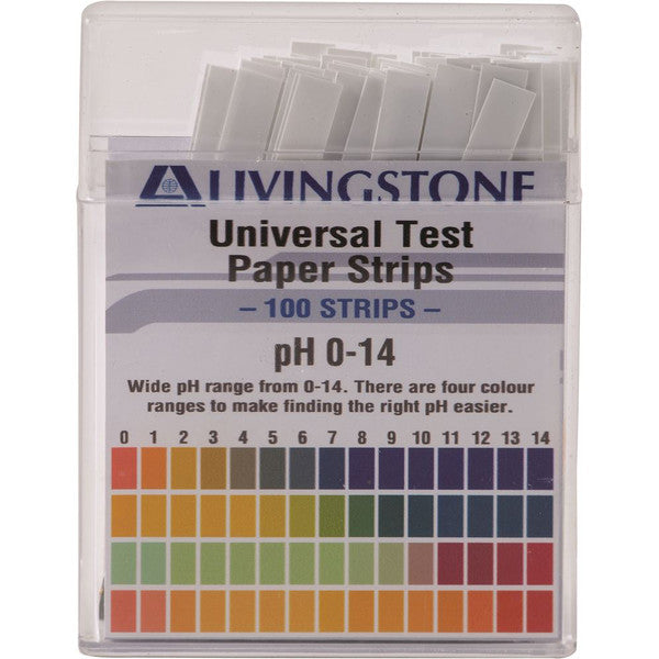 Alkaline pH Test Strips - (100 pack)