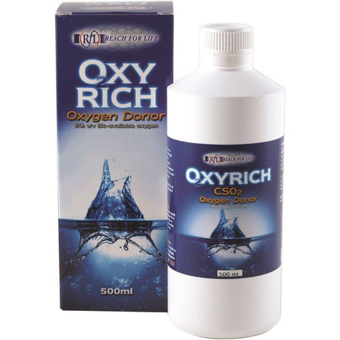 Oxy Rich 500ml- Concentrated Liquid Oxygen Supplement