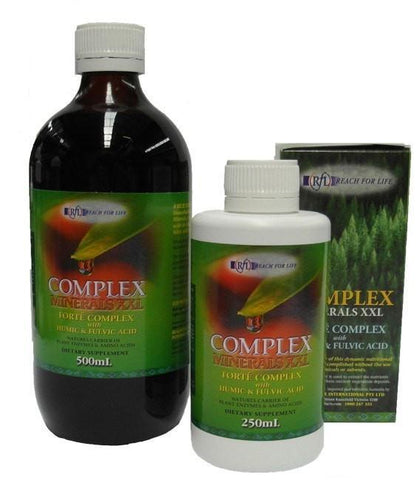 Colloidal Minerals XXL with Humic & Fulvic Acids