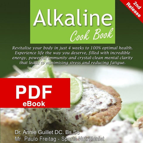 Alkaline Cookbook PDF e-Book by Dr Annie Guillet & Mr Paulo Freitag