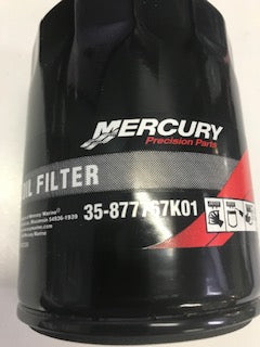 MERCURY OIL FILTER FOR L4 135, 150, 175 & 200 4-CYLINDER VERADO ENGINES