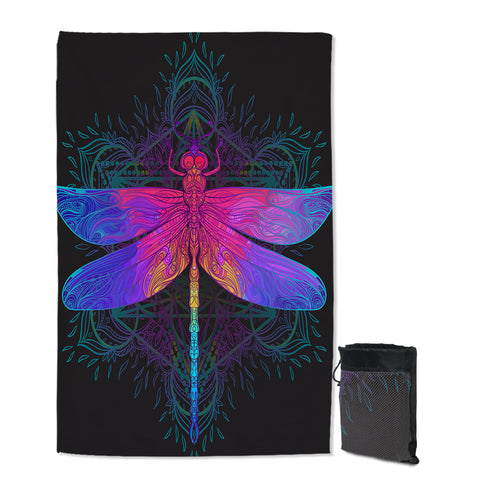 Dragonfly Dreams Sand Free Towel