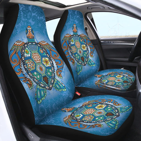 The Original Turtle Totem Car Seat Cover-🇦🇺 Australian Coastal Passion
