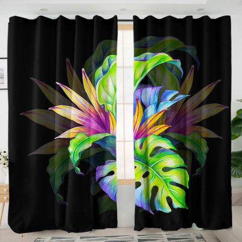 Coastal Curtain-Trop Love Curtains-Coastal Passion