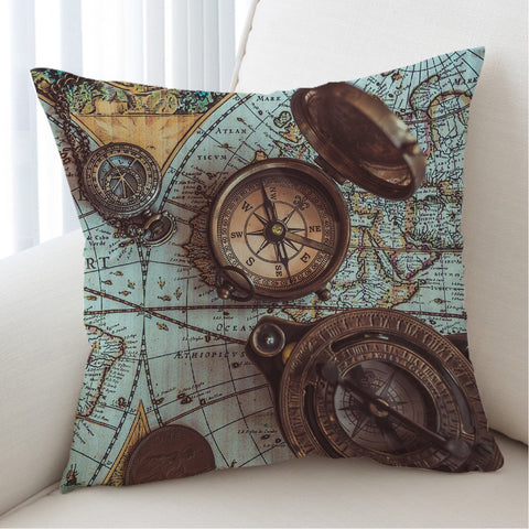 The World Wanderer Cushion Cover-Australian Coastal Passion