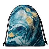 Coastal Round Beach Towel-Bondi Beach Towel + Backpack-Coastal Passion