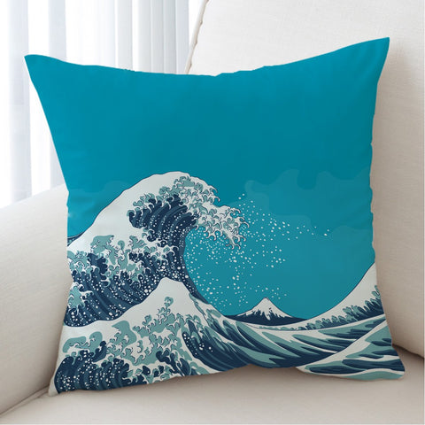 The Great Wave Cushion Cover-Australian Coastal Passion
