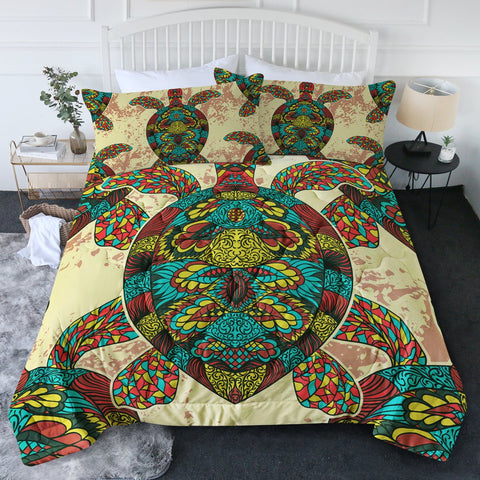 Bohemian Sea Turtle New Quilt Set-🇦🇺 Australian Coastal Passion
