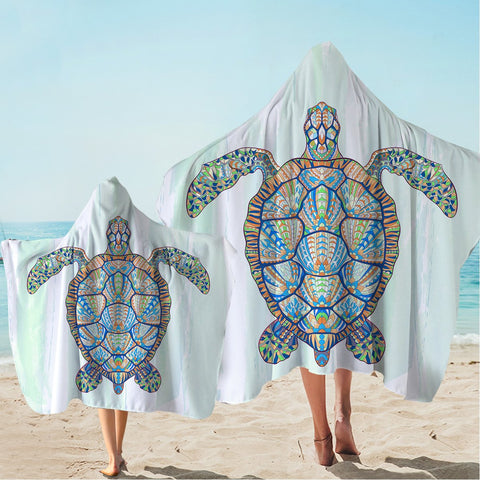 Ocean Turtle Hooded Towel