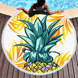Wear a Crown Round Beach Towel