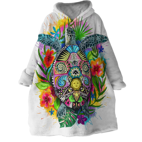 The Original Turtle Mystic Wearable Blanket Hoodie-Coastal Passion