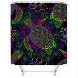 Sea Turtle Mysteries Shower Curtain-Australian Coastal Passion