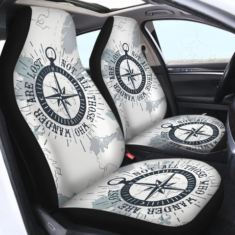 The Ocean Wanderer Car Seat Cover