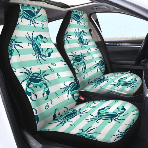 Lovely Little Crabs Car Seat Cover