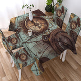 The World Wanderer Tablecloth-Australian Coastal Passion