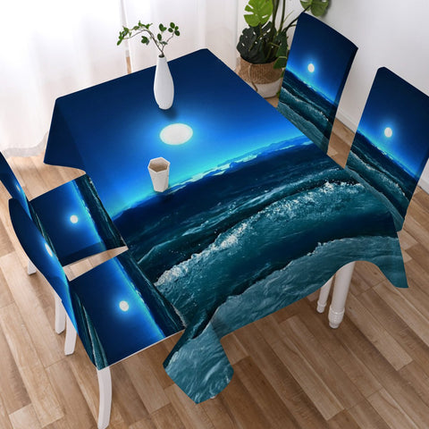Moonlight Magic Tablecloth-Australian Coastal Passion