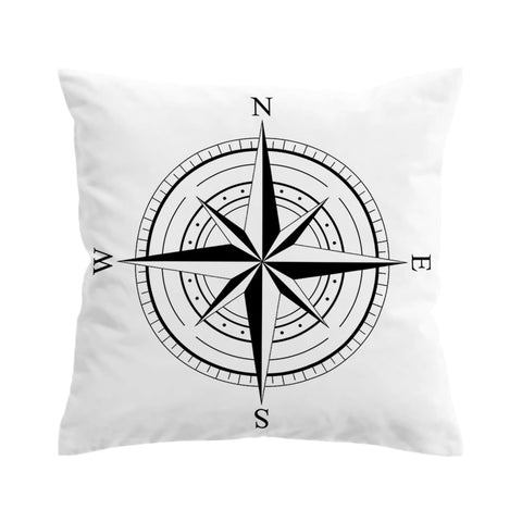 The Wind Rose Cushion Cover