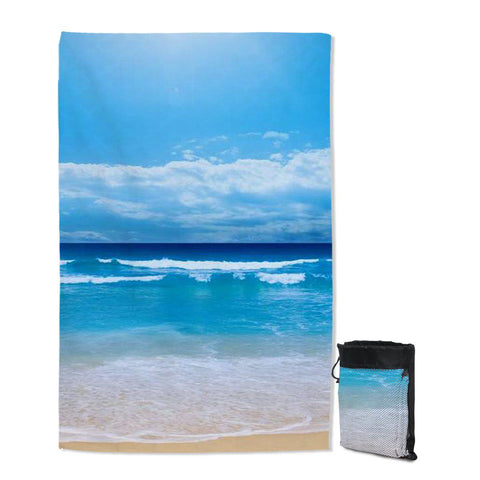 Peace of the Beach Sand Free Towel