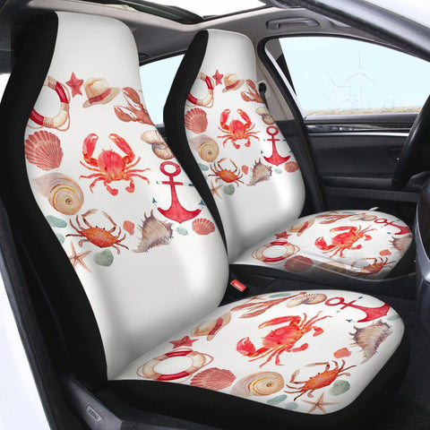 The Red Crab Car Seat Cover