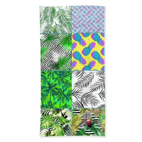 Coastal Sand Free Beach Towel-Tropical Galore Sand Free Towel-Coastal Passion