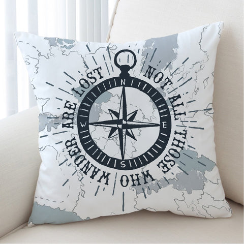 Pillow Cover-The Ocean Wanderer Pillow Cover-Coastal Passion