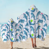 Dolphins Soul Fins Hooded Towel-Australian Coastal Passion