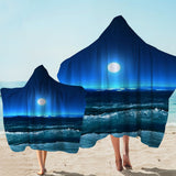 Coastal Hooded Towel-Moonlight Magic Hooded Towel-Coastal Passion