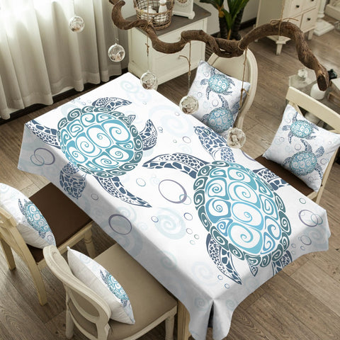 The Original Turtle Twist Tablecloth-Australian Coastal Passion