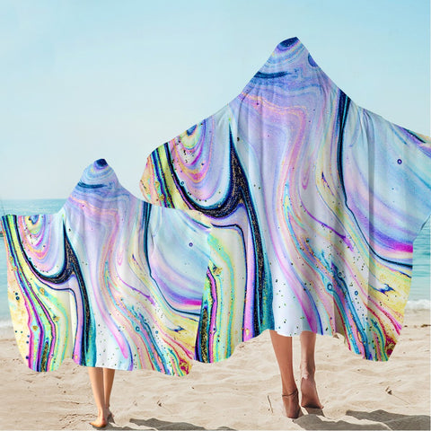 Coastal Hooded Beach Towel-Maya Bay Hooded Towel-Coastal Passion
