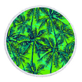 Coastal Round Beach Towel-Cocoon Round Beach Towel-Coastal Passion