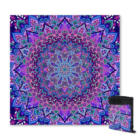 Coastal Sand Free Beach Towel-Cosmic Bohemian Sand Free Towel-Coastal Passion