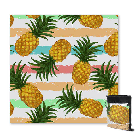 Pineapple Party Sand Free Towel