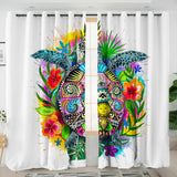 Coastal Curtain-The Original Turtle Mystic Curtains-Coastal Passion
