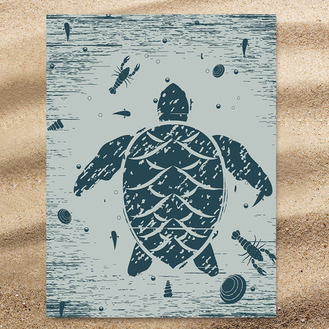 Sea Turtle Treasure Jumbo Towel-🇦🇺 Australian Coastal Passion