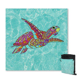 Coastal Sand Free Beach Towel-The Sea Turtle Spirit Sand Free Towel-Coastal Passion