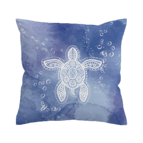 Honu Healing Cushion Cover-🇦🇺 Australian Coastal Passion
