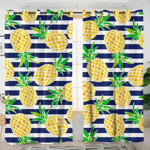 Pina Cabana Curtains-Australian Coastal Passion