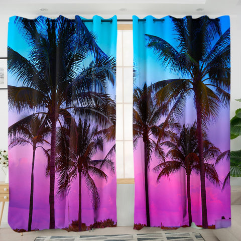 Tropical Skies Curtains-Australian Coastal Passion