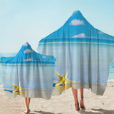 Coastal Hooded Towel-Beach Please Hooded Towel-Coastal Passion