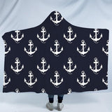 Anchored to the Sofa Cozy Hooded Blanket-Fleece Hooded Blanket-Australian Coastal Passion