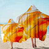 Coastal Hooded Beach Towel-South Beach Hooded Towel-Coastal Passion