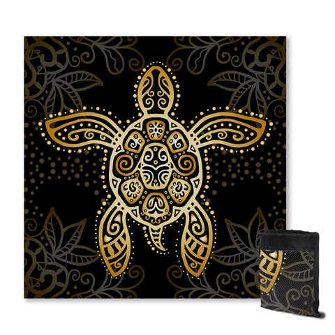 The Original Golden Turtle Sand Free Towel